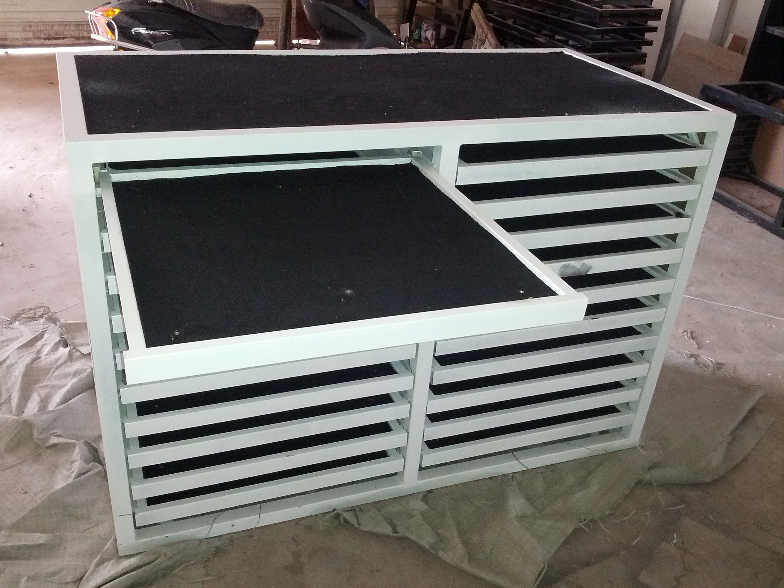 <b>Stone Sample Storage Rack-0438</b>