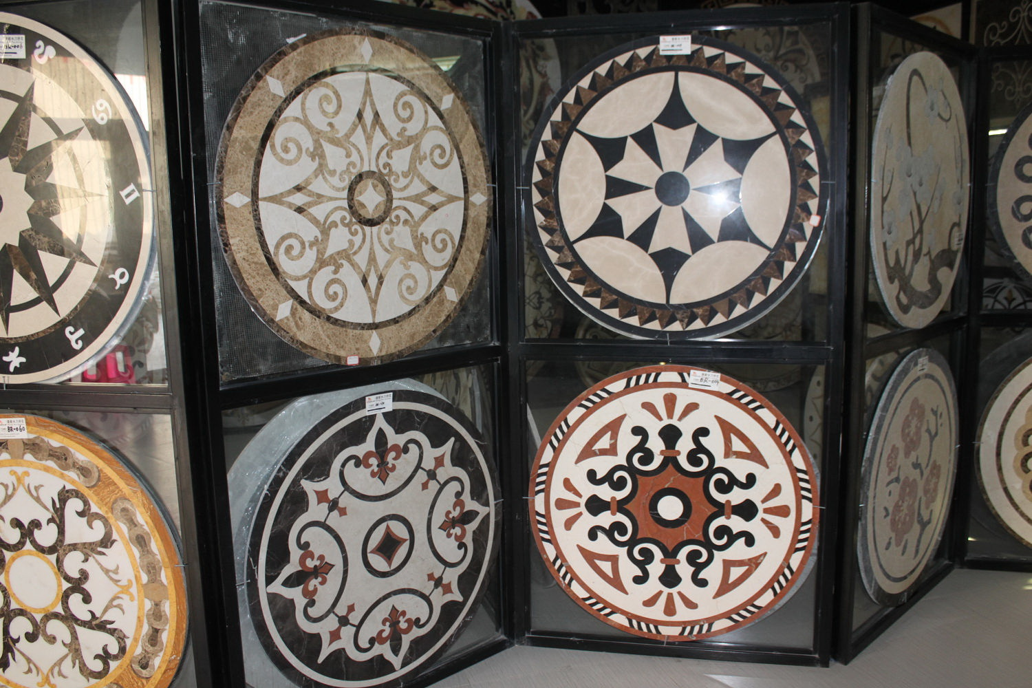 <b>Marble Medallion Display-0808</b>